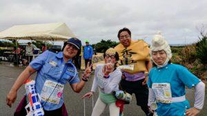 ヨロンマラソン仮装ランナー